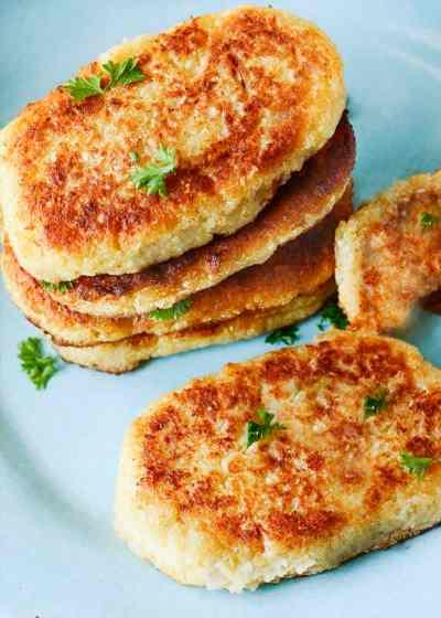 Gluten-Free Vegan Cauliflower Hash Browns