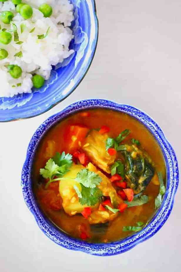 Potato Cabbage Curry