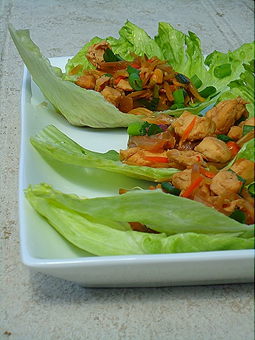 Asian Chicken Lettuce Wraps (3/3)