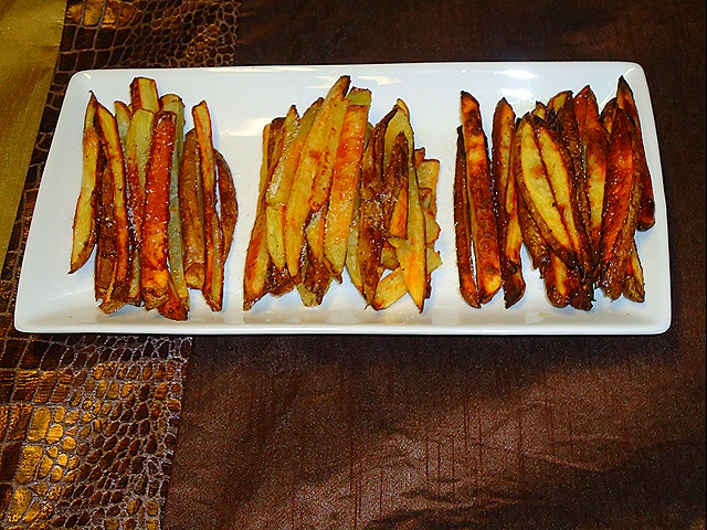 Taste Test Tuesday: Crispy Oven Baked Fries (3/6)
