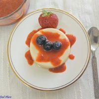 Light Panna Cotta (Two ways)