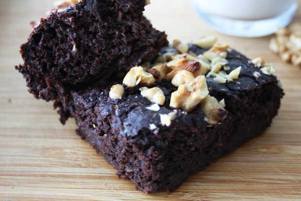 Bananen Walnuss Brownies