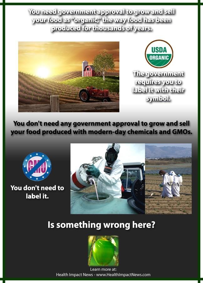 organic labeling vs. GMO labeling