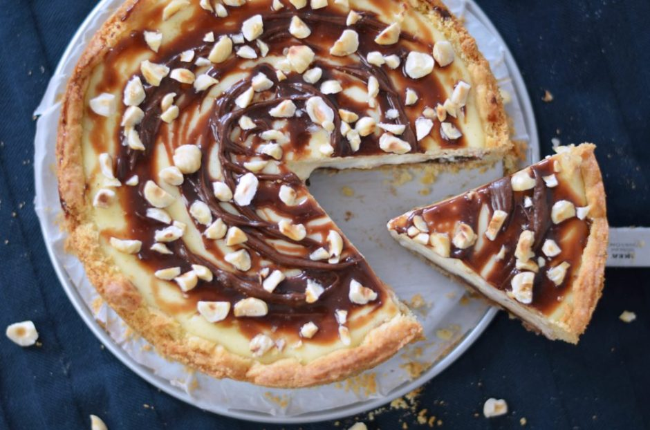 ricotta nutella cheesecake recept
