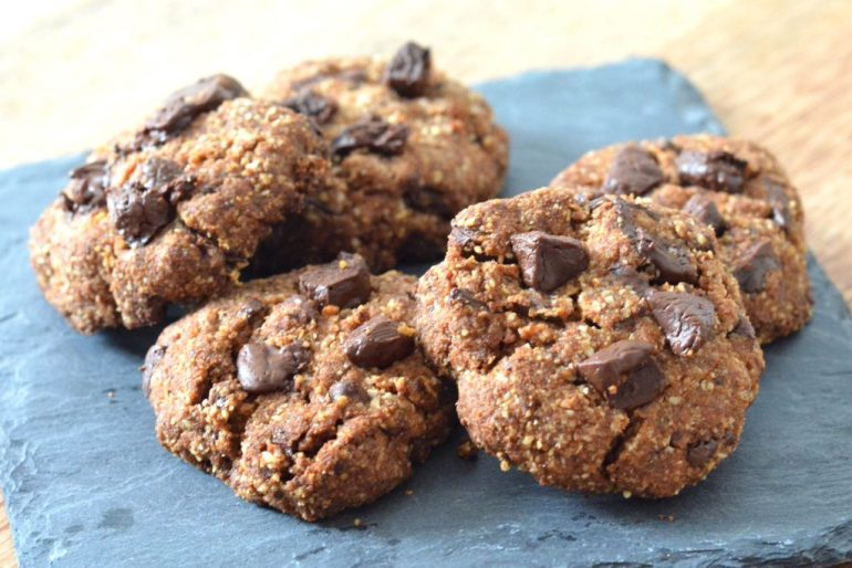 glutenvrije chocolate chip cookies