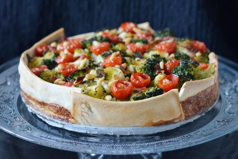 lactosevrije broccoli quiche
