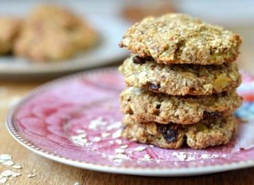 Gezonde havermout koekjes uit de airfryer en oven