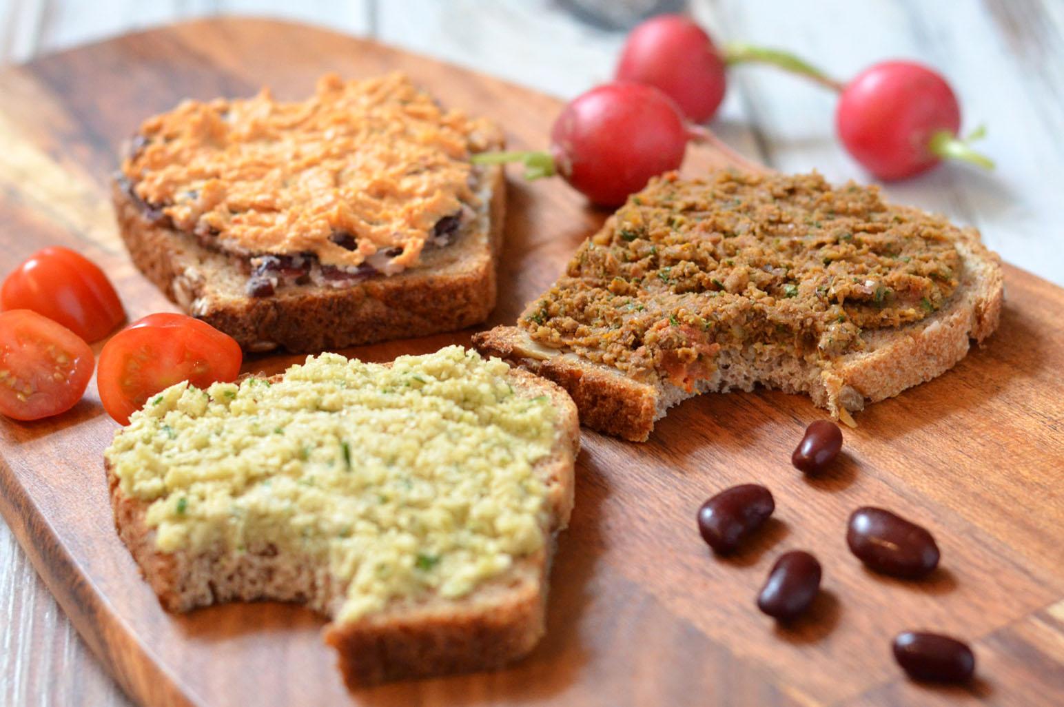eiwitrijk voedsel veganist