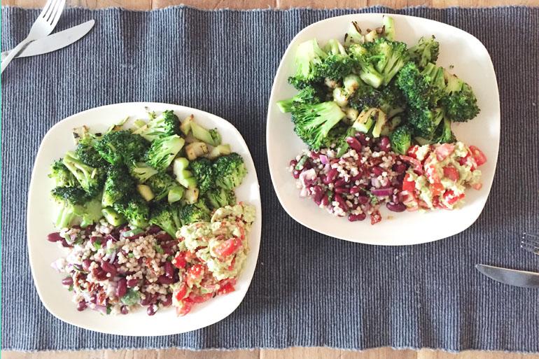 vegan avondeten
