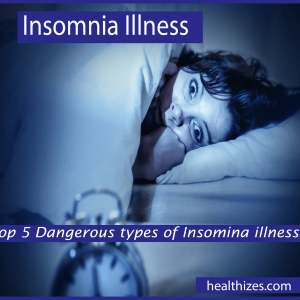 Top 5 Dangerous types of Insomnia