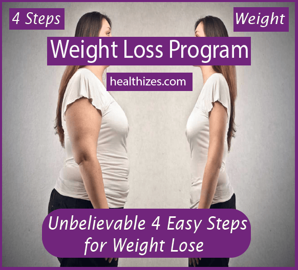 Unbelievable 4 Easy Steps for Weight Lose