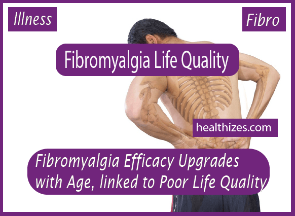 Fibromyalgia Efficacy Upgrades with Age, linked to Poor Life Quality
