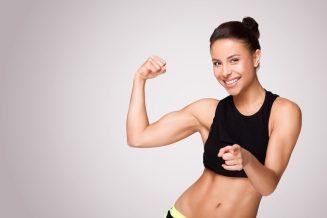 training woman