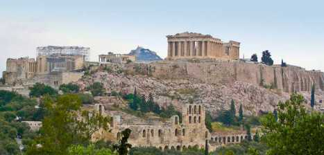 acropolis of athens in greece