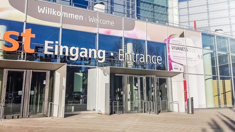 Vivaness 2019 Nürnberg Messe Eingang Naturkosmetik