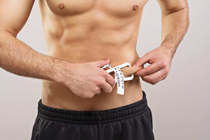 calculate percentage of weight loss-skinfold