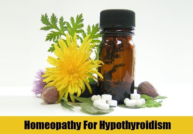 homeopathic treatment for hypothyroidism
