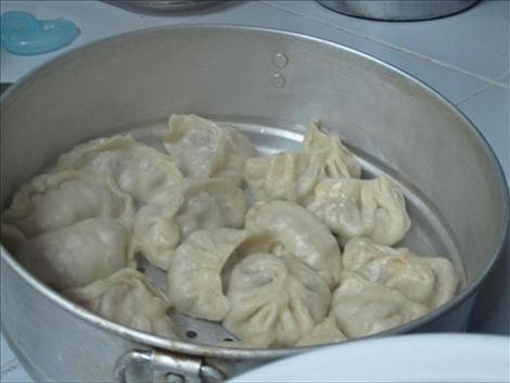 cheese momos