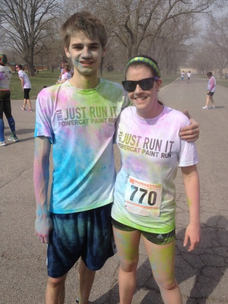 end of color run