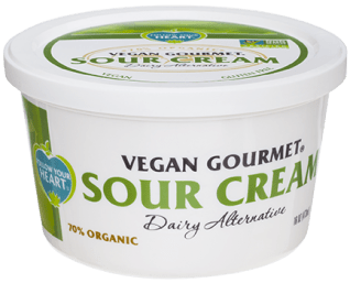 Dairy free sour cream