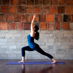yoga warrior pose for belly fat reduction