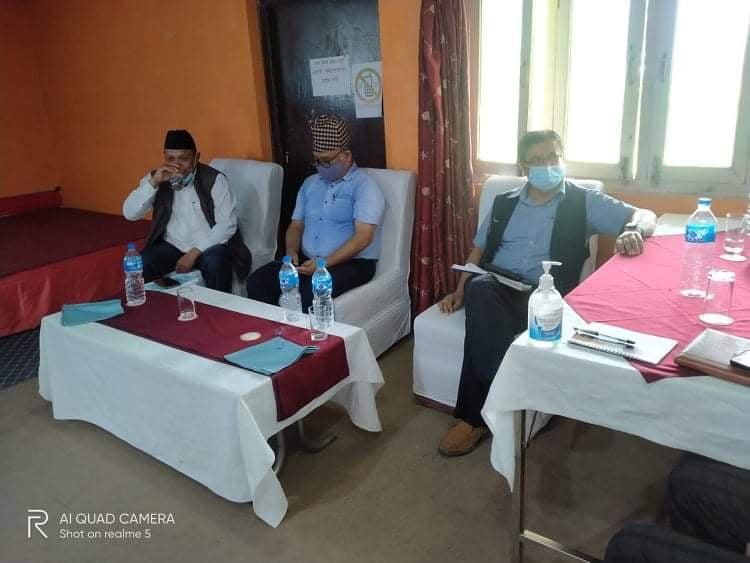 कार्यक्रममा माननीय सामाजिक बिकास मन्त्री श्री लाल बहादुर खड्का , स्वास्थ्य सेवा बिभागका महानिर्देशक डा. दिपेन्द्र रमण सिंह तथा स्वास्थ्य तथा जनसंख्या मन्त्रालयका प्रबक्ता डा. कृष्ण प्रसाद पौडेल ।