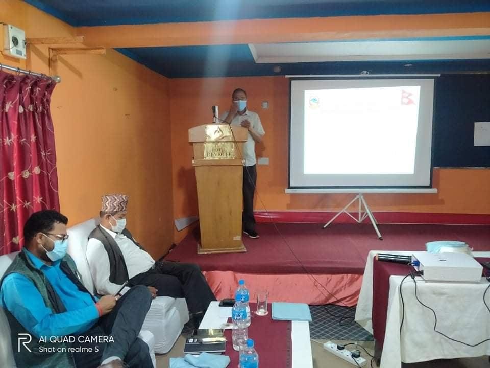 कार्यक्रममा स्वास्थ्य निर्देशक डा. गुणराज अवस्थी ज्युको सम्बोधन