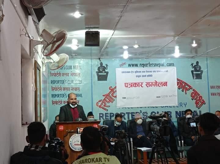 नेपाल डेन्टल साइन्स हाईजिनिष्ट एसोसिएसन संघका अध्यक्ष माइकल देेेेवकोटा