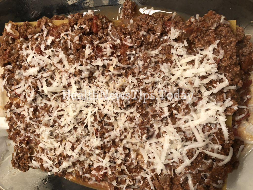 Gluten Free Lasagna Bolognese