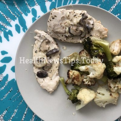 Chicken in Creamy Mushroom Sauce