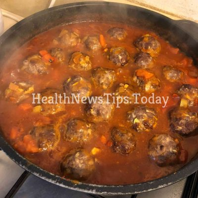 Low Carb Greek Style Meatballs
