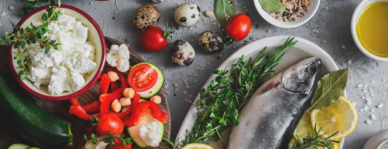 Mediterranean Low-Carb Dinner