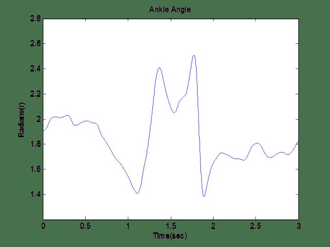 Figure 2.a. Ankle Angle