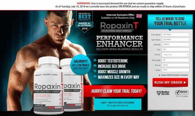 Ropaxin T Side Effects