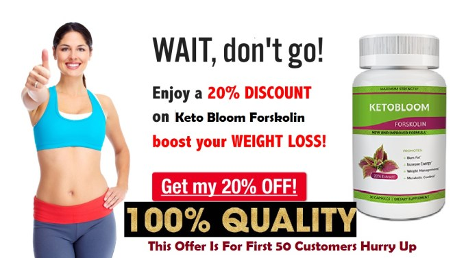 KetoBloom Forskolin