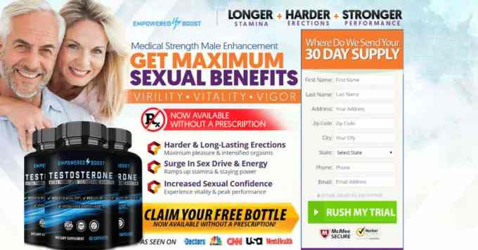 Empowered Boost male enhancement