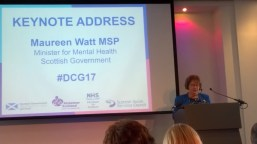Maureen Watt: Minister for Mental Health at the Scottish Government