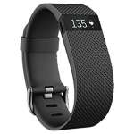Fitbit Wireless Activity Cargo HR Wristband, Black, Small