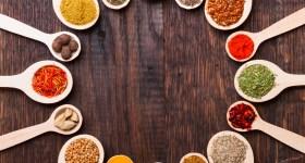 Le proprietà benefiche delle spezie