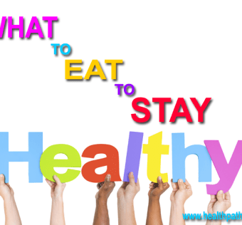 what to eat to stay healthy