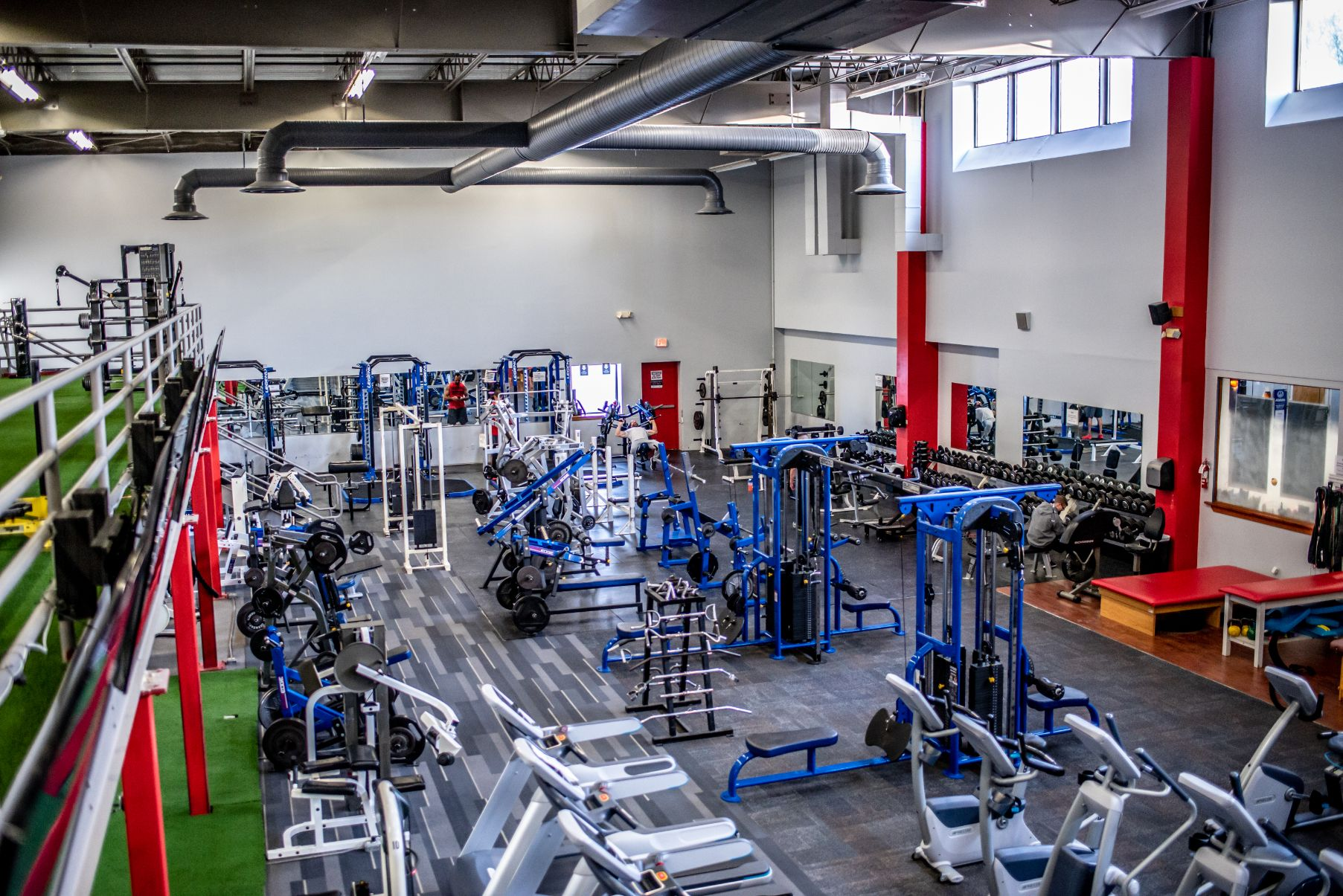 Healthplex Fitness Clifton Park NY Weight Machines