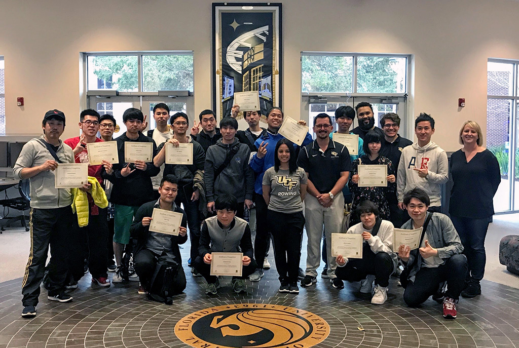 Athletic Training Program Helps Train Judo Therapy Students from Japan