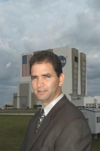 man at NASA