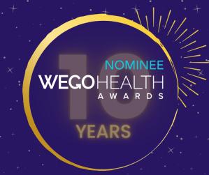2021 WEGO HEALTH award nominee