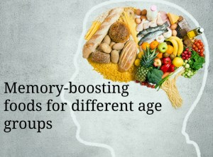 Memory-boosting foods for different age groups