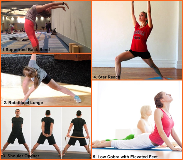 Perform these stretches