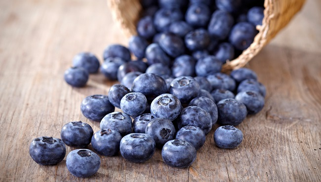 Fruits and Vegetables-Blueberries