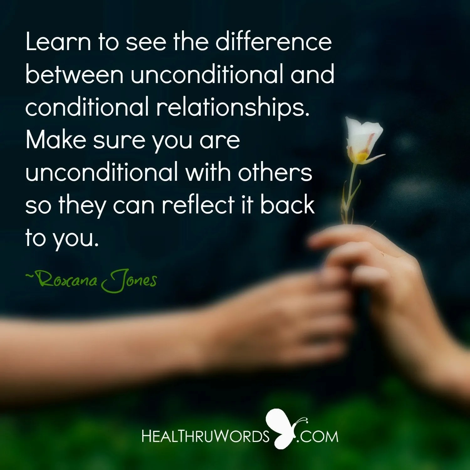 Unconditional Reflections