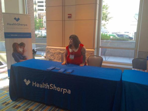 HealthSherpa at the Philly Trans-Health Conference.