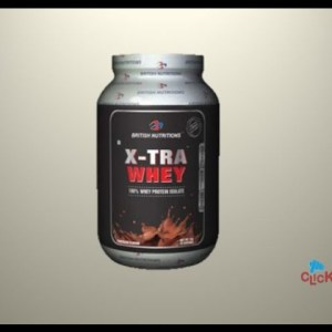 British Nutritions Xtra Whey On ClickOnCare